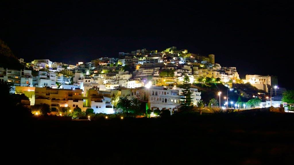 Mojácar at night
