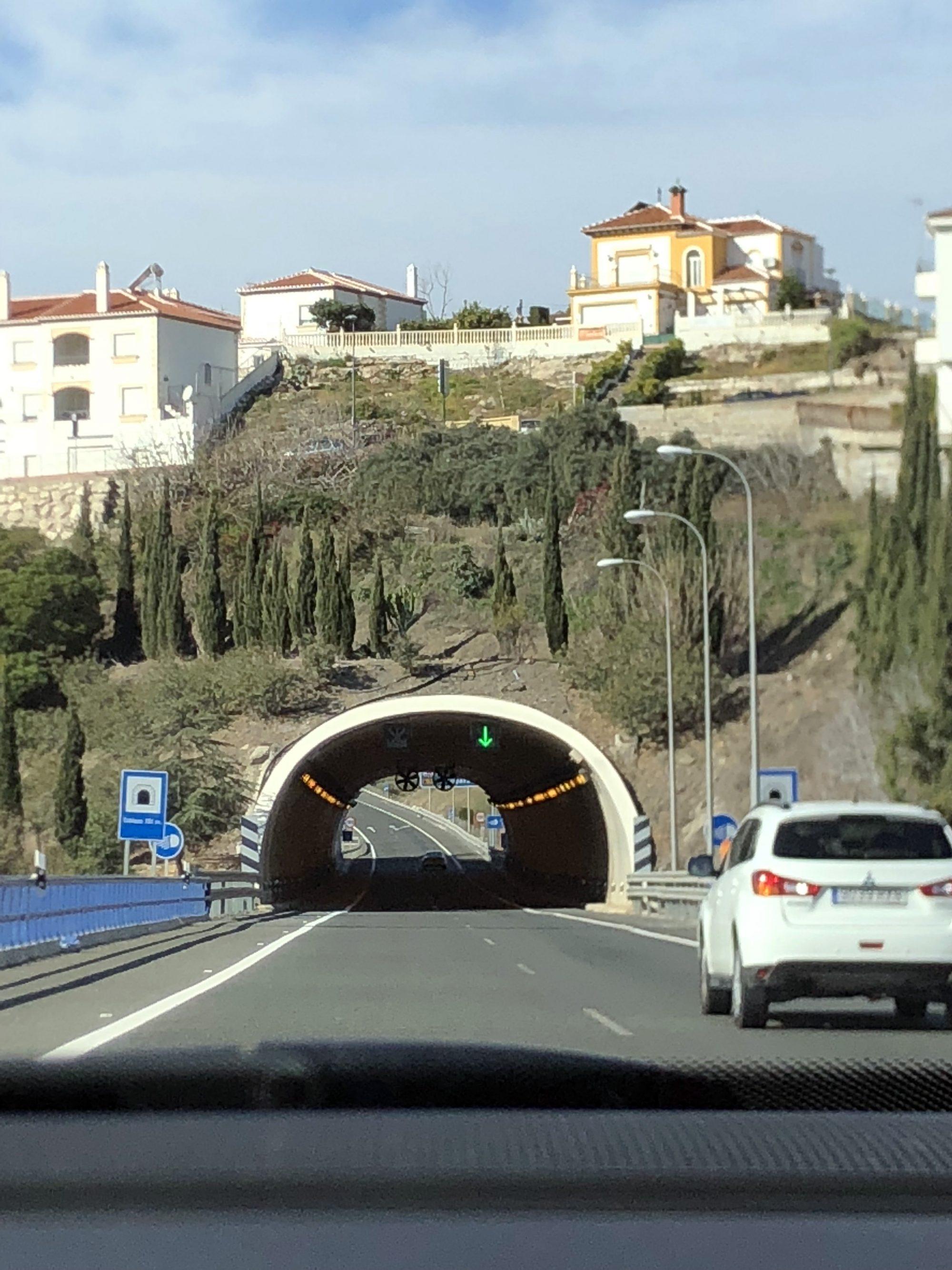 Viaje desde Mojácar a Málaga
