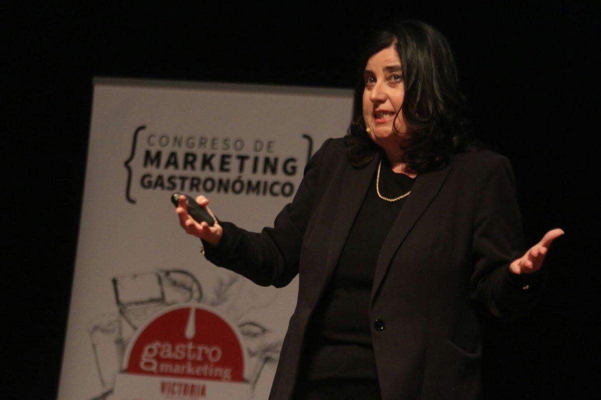 Mayte Carreño en Marketing gastronómico GASTROMLG18