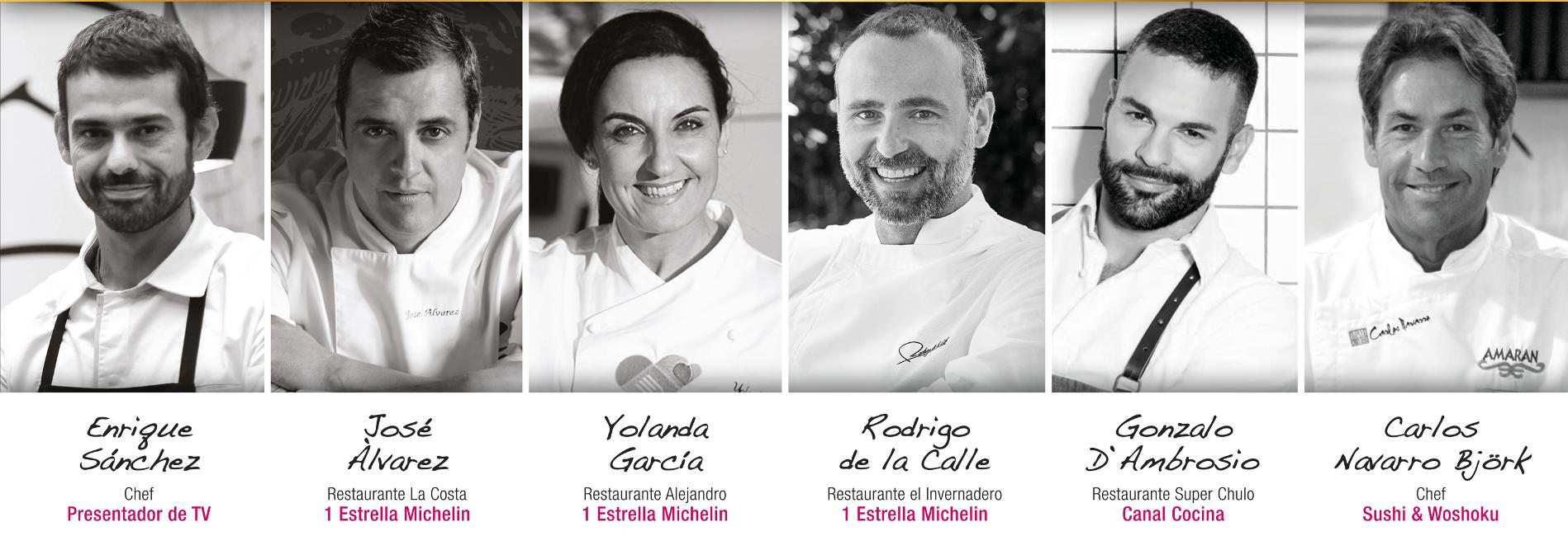Chefs invitados Degustho 2018