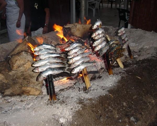 Espetos de sardina