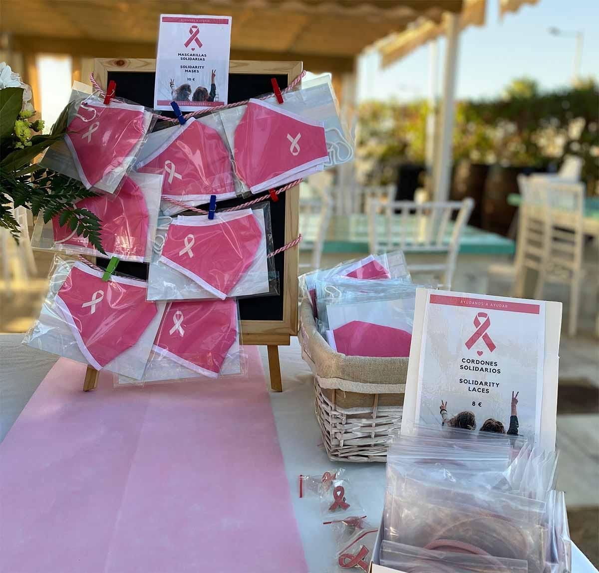 Merchandising Día contra el cáncer en Neptuno