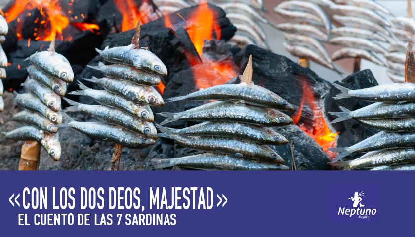 el cuento de las 7 sardinas restaurante neptuno mojacar