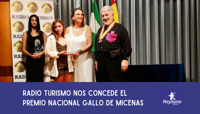 Premio Nacional Gallo de Micenas al restaurante neptuno